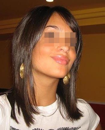 Belle fille arabe de Villejuif